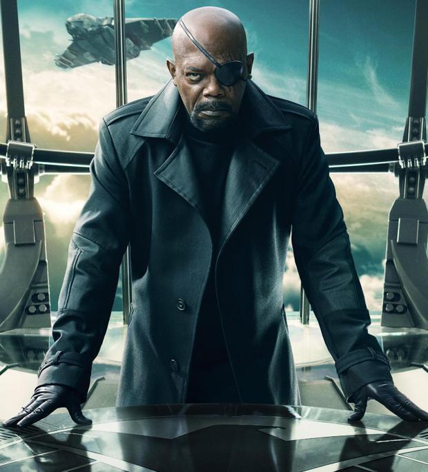 Nhân vật Nick Fury củaSamuel L. Jackson trong MCU.