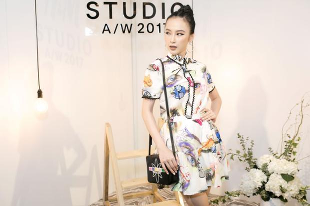 Angela Phương Trinh xinh đẹp, rạng ngời xuất hiện tại buổi ra mắt bộ sưu tập H&M Thu Đông 2017.