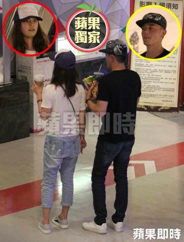 Sau đó, cặp đôi mua vé xem bộ phim Ngày mai trăng sáng. Đây cũng là tác phẩm điện ảnh mới nhất Hoắc Kiến Hoa đóng chính cùng với Châu Tấn.