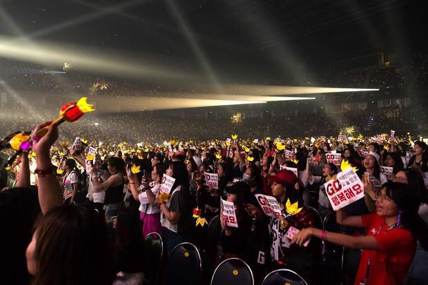 Đêm concert đầu tiên vào ngày hôm qua (7/7) đã diễn ra thành công tốt đẹp.