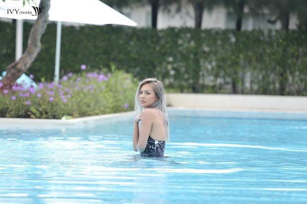 Đã có kinh nghiệm về chụp hình dưới nước, đây là thử thách không quá khó khăn với cô bạn Quỳnh Như.