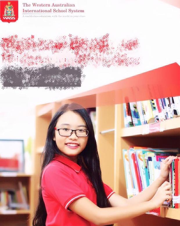 Kết quả học tập của Phương Mỹ Chi cũng khiến người tự hào.