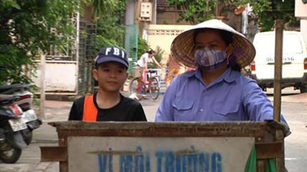 Mẹ Quang Anh từng làm công nhận vệ sinh môi trường ở Thanh Hóa.