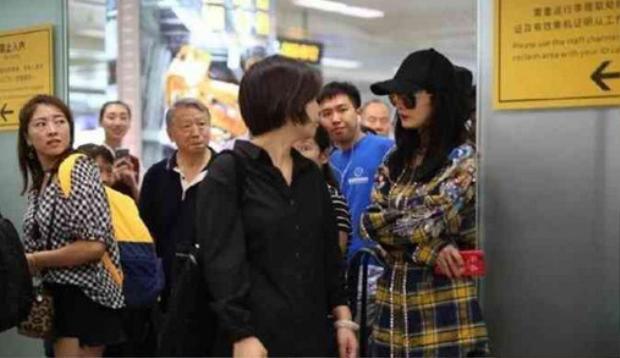 Dương Mịch gây hỗn loạn tại sân bay khiến nhân viên an ninh giận dữ