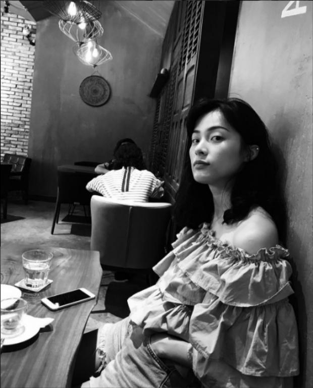 Hình ảnh mới nhất của Hạ Vi trên Instagram cá nhân.