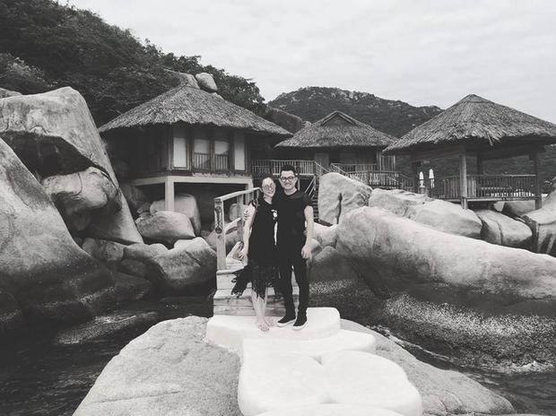 Linh Nga và người yêu đang tận hưởng kỳ nghỉ vui vẻ bên nhau.