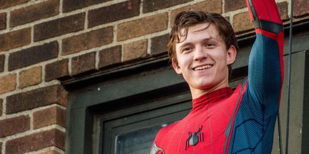 Tom Holland - ngôi sao đang tỏa sáng của Spider-man: Homecoming.