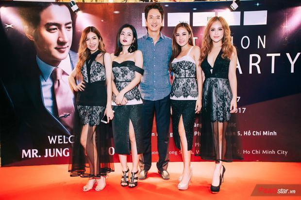 Những cô nàng cá tính của nhóm S Girls cũng có dịp gặp gỡ và trò chuyện với nam diễn viên Jung Joon Ho.