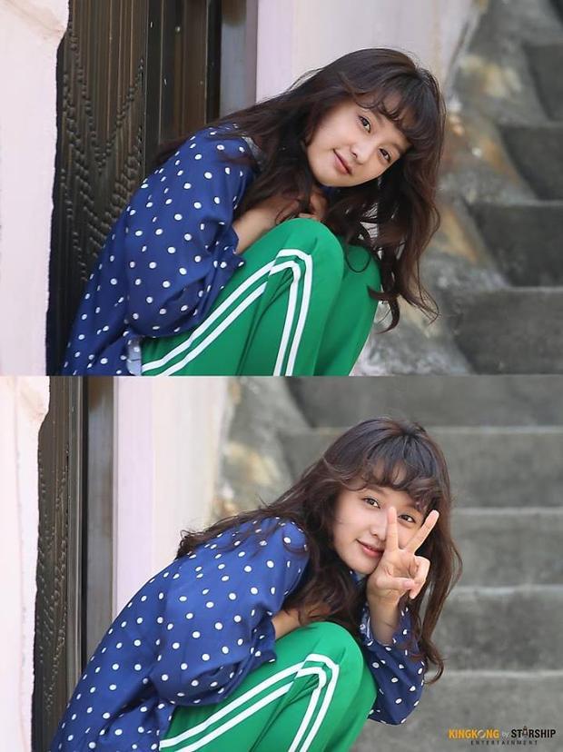 """Bộ phim tích cực """"lăng xê"""" trào lưu này tới nỗi cả cô bạn gái Choi Ae Ra cũng diện luôn."""