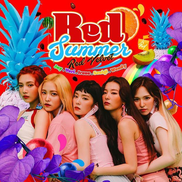 Red Velvet mở màn cho cuộc đổ bộ nhà SM với mini album đốt cháy mùa hè The Red Summer.
