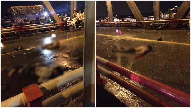 Vụ tai nạn khiến 3 người tử vong tại chỗ.