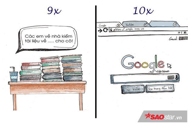 Chỉ quanh việc học thôi mà thế hệ 9x đã khác 10x thế này rồi!