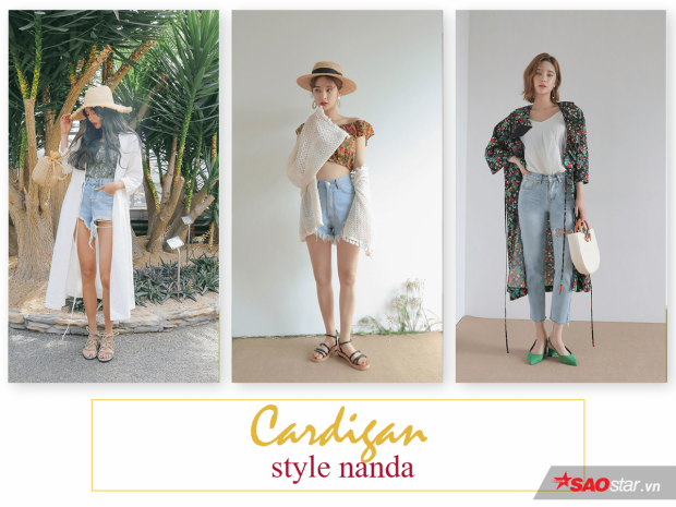 Những mẫu quần short và cardigan lên ngôi hè này sẽ mang bạn đến miền nhiệt đới!