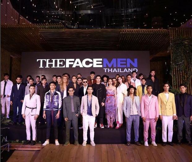 The Face Men đã có buổi ra mắt báo giới khá hoành tráng.