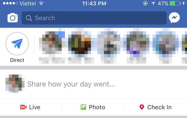 """""""Share how your day went - Hãy chia sẻ những điều bạn đã trải qua trong ngày hôm nay đi"""". Quả là ấm lòng đúng không? Facebook cứ quan tâm ngọt ngào thế này thì kể cả là không có người yêu cũng cảm thấy bao muộn phiền tan biến sau một ngày mệt mỏi."""