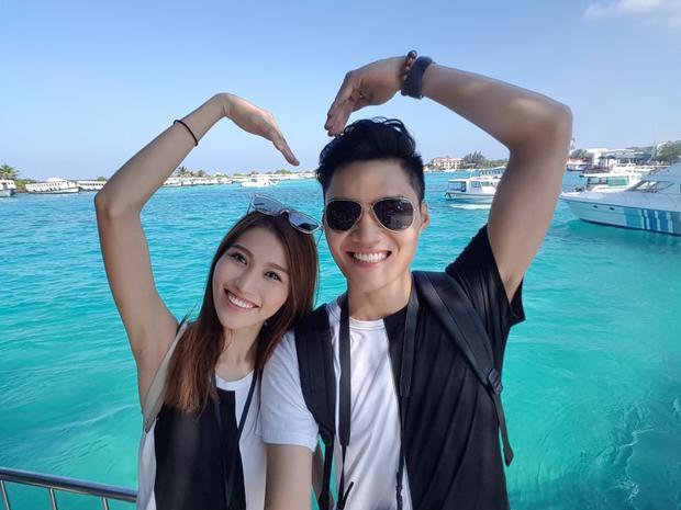 Quỳnh Châu - Quang Hùng được coi là một trong những cặp đôi đẹp của showbiz Việt.
