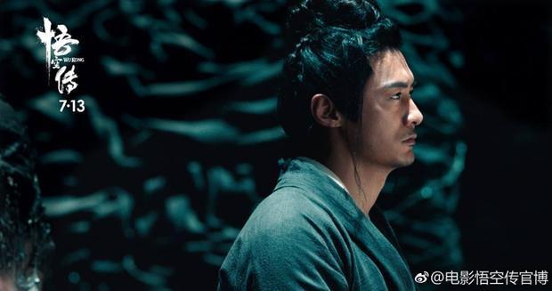 Dương Tiễn (Dư Văn Lạc) mang nặng chuyện tình cảm về Mẹ và Tử Hà Tiên Tử.