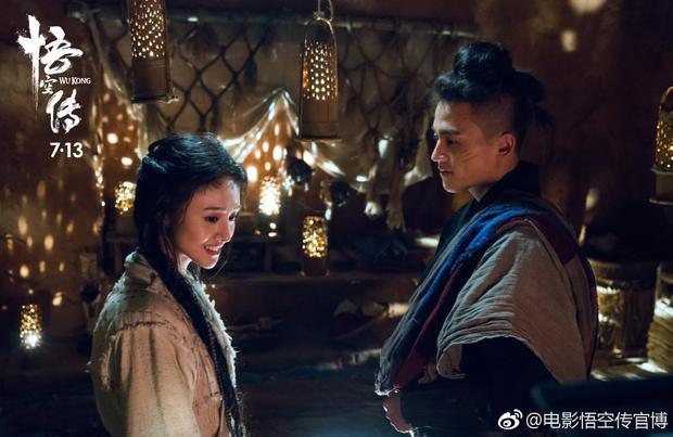 Chuyện tình ngọt ngào giữa Thiên Bồng và A Nguyệt Tiên Tử.