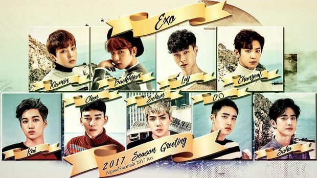 Các chàng trai EXO cũng sẽ comeback với một album mới cuối tháng 7 năm nay.