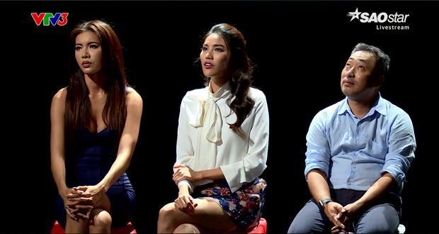 Minh Tú, Lan Khuê và đạo diễn Nguyễn Quang Dũng đều đưa ra những ý kiến khác nhau trong cách xử lý tình huống.
