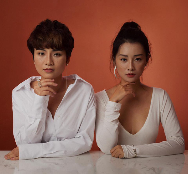 Thùy Dung và Quỳnh Chi.
