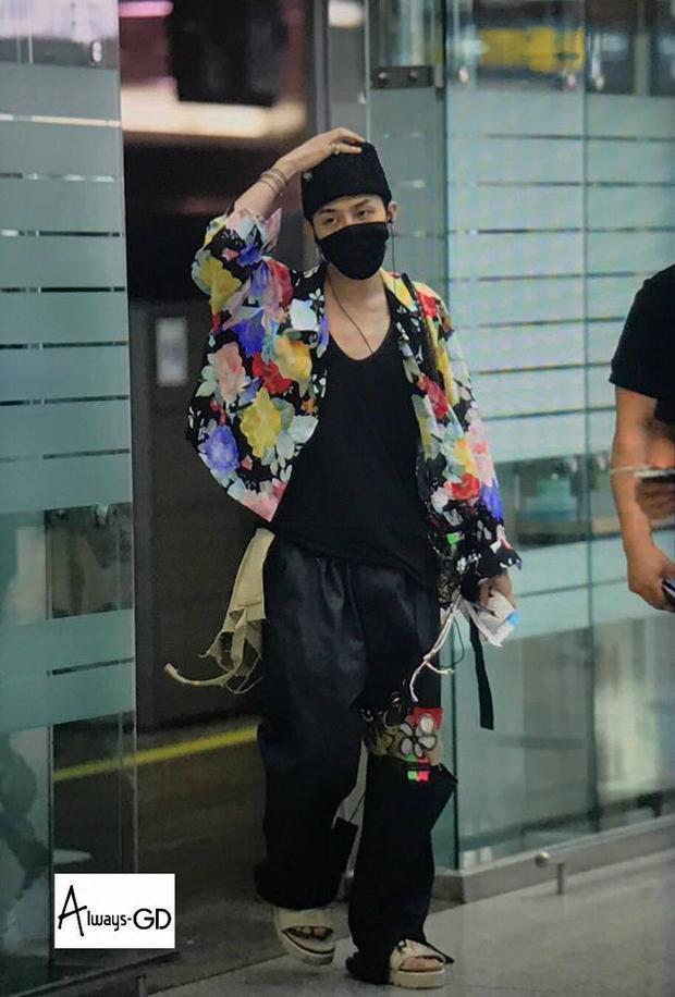 Người ta đã từng phải trầm trồ xuýt xoa mỗi khi thấy G-Dragon xuất hiện bao nhiêu thì lại phải ngao ngán bấy nhiêu mỗi khi anh chàng xuất hiện tại sân bay.