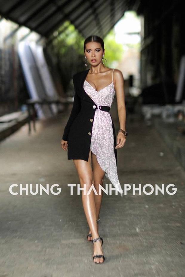 Minh Tú trong thiết kế của Chung Thanh Phong.