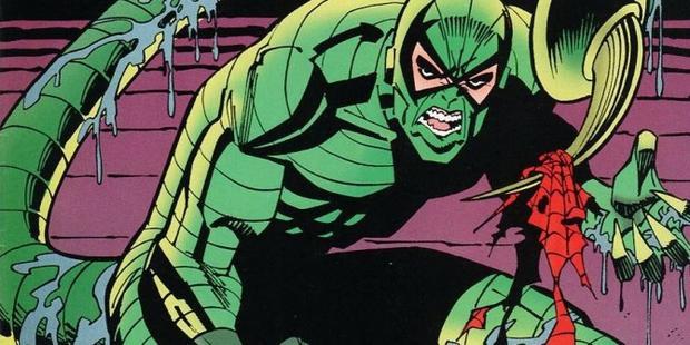 Scorpion - Siêu ác nhân sẽ xuất hiện ở phần 2 của Spider-man do Tom Holland thủ vai.