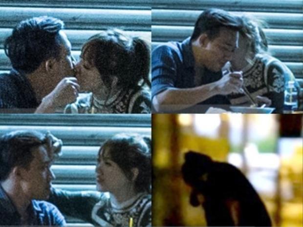 Hari Won bắt gặp hôn Trấn Thành sau 15 ngày công bố chia tay Tiến Đạt.
