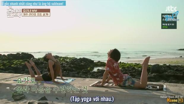Cuộc sống bình yên mỗi buổi sáng của gia đình Hyori.