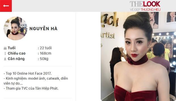 Là gương mặt mới nhưng thí sinh Nguyễn Hà chưa bao giờ rời khỏi Top 3.
