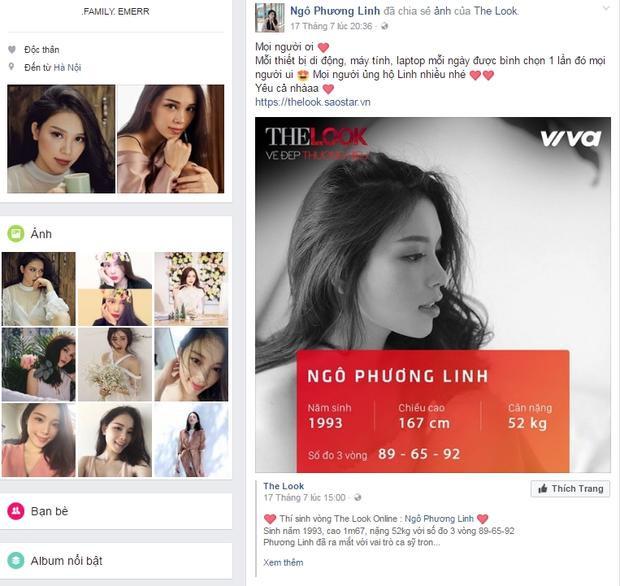 Ra sức kêu gọi bình chọn, Linh Rin - Ngô Phương Linh giữ vị trí #2 trong Top 10.