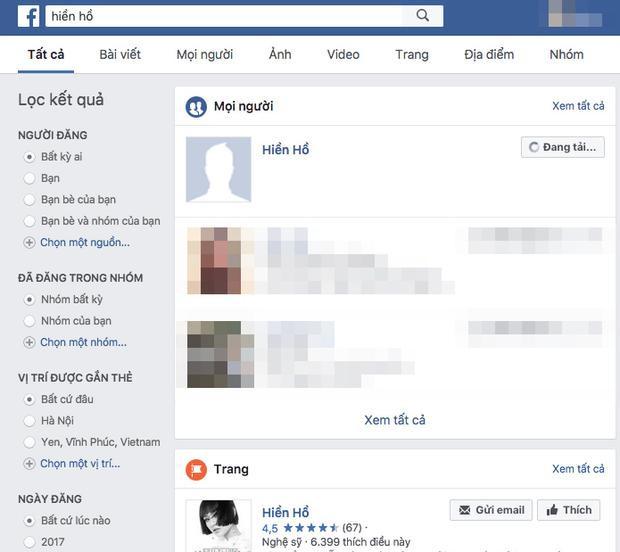 Hiền Hồ phải đóng Facebook cá nhân trước tâm bão scandal.