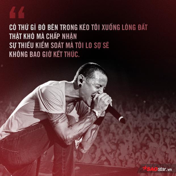Anh ấy, có lẽ đãphải dày vò tâm can nhiều lắm trước khi đi tới lựa chọn này. Và giờ đây, người hâm mộ Linkin Park đang khóc cạn nước mắt trước sự ra đi đột ngột của anh.