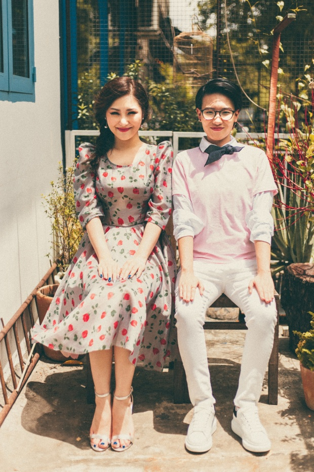 Bộ đôi HLV trẻ tuổi nhất lịch sử The Voice Kids: Hương Tràm - Tiên Cookie.