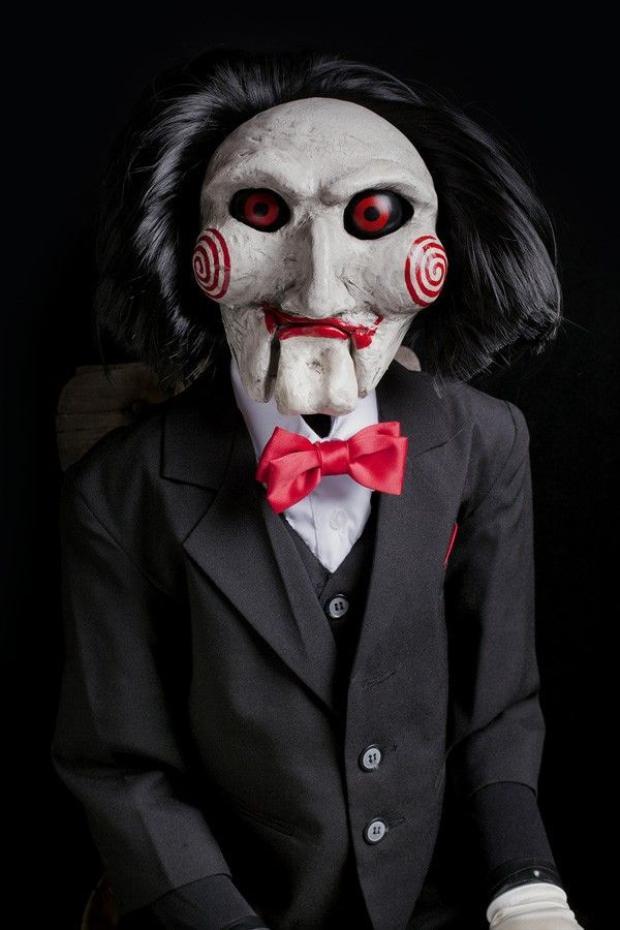 Nhân vật Jigsaw bí ẩn trong series phim kinh dị Saw.