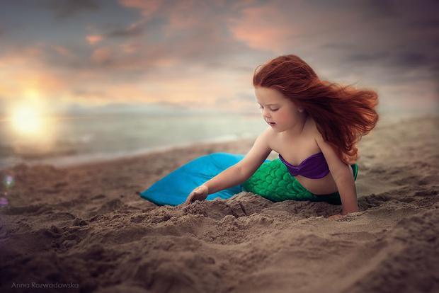 Ariel với giọng hát tuyệt vời khiến cả thủy cung phải thốt lên những lời tán thưởng ngọt ngào là em đây!