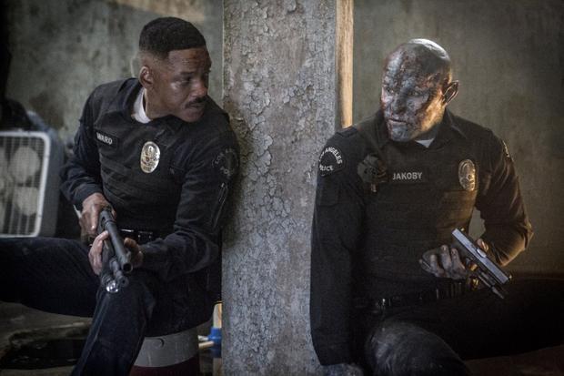 Will Smith và Joel Edgerton trong phim.