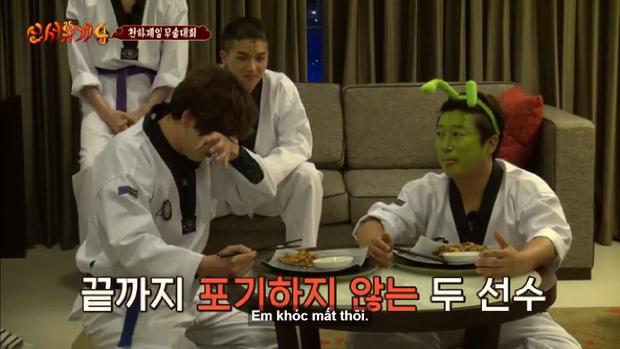 Kyuhyun đã khóc vì sức chịu đựng có giới hạn của mình.