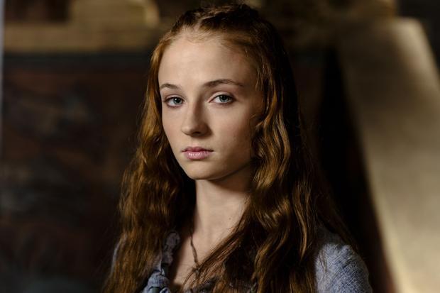 Sansa thời còn là tiểu thư nhẹ dạ.