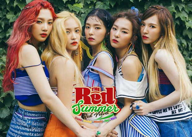 Red Velvet đứng hạng 2.