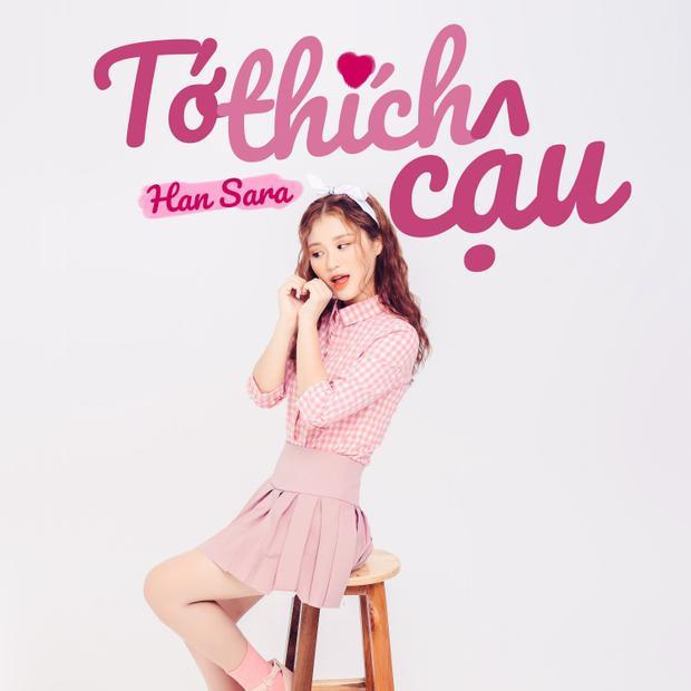 """Hotgirl người Hàn Han Sara hé lộ sản phẩm """"debut"""" sau The Voice."""