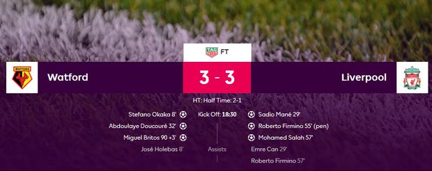 Tin cập nhật 12/8: Chelsea thất bại trong ngày ra quân