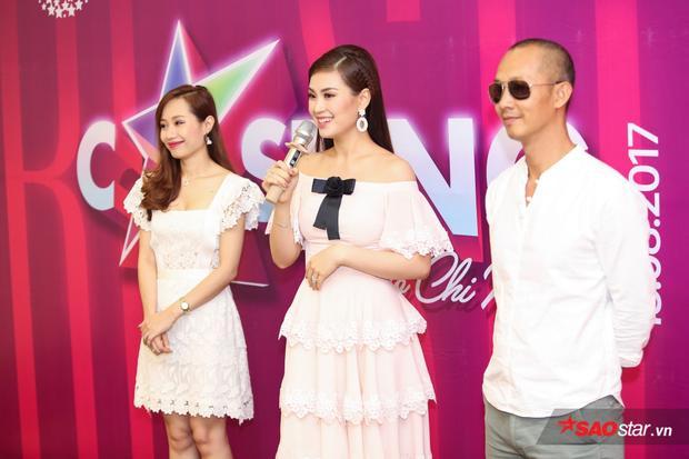 Bộ 3 giám khảo quyền lực dặn dò các thí sinh trước vòng thi tài năng