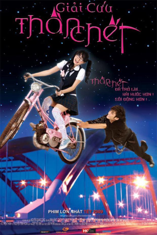 Giải cứu thần chết là một trong những bộ phim ấn tượng của Minh Hằng.