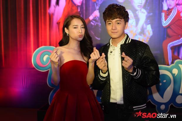 Trong phim, Ngô Kiến Huy và Nhã Phương là cặp đôi chính đầy hài hước.