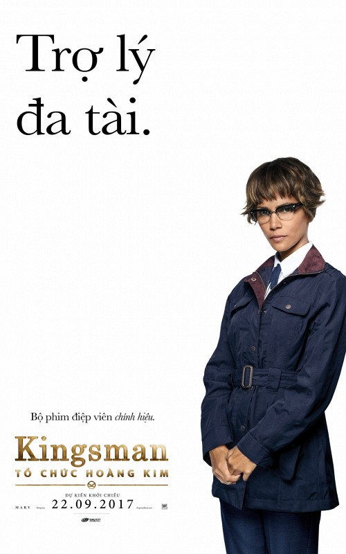 Halle Berry trong Kingsman: The Golden Circle.