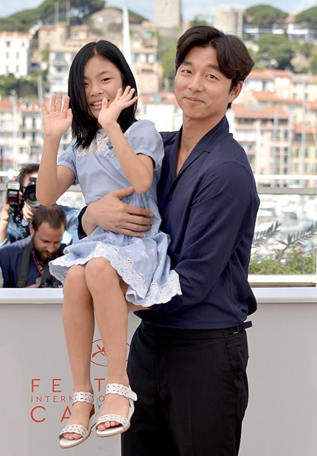 Kim Soo Ahn và Gong Yoo.