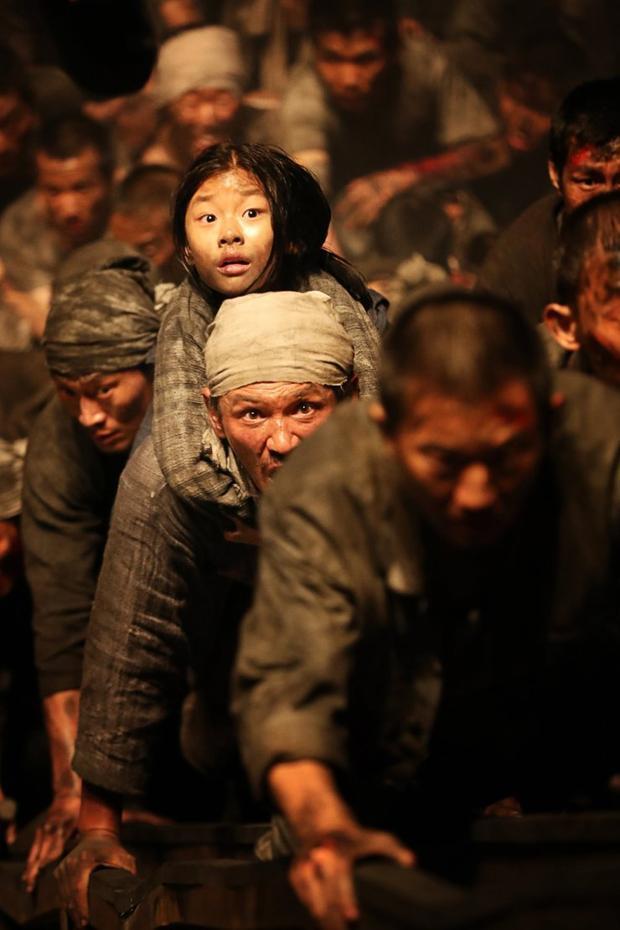 Hình ảnh hai bố con So-hee trong phim mang đến nhiều cảm xúc cho người xem.