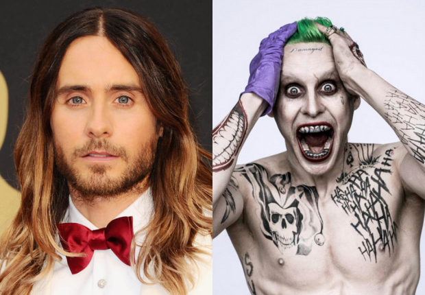 Jared Leto vào vai Joker trong Suicide Squad.